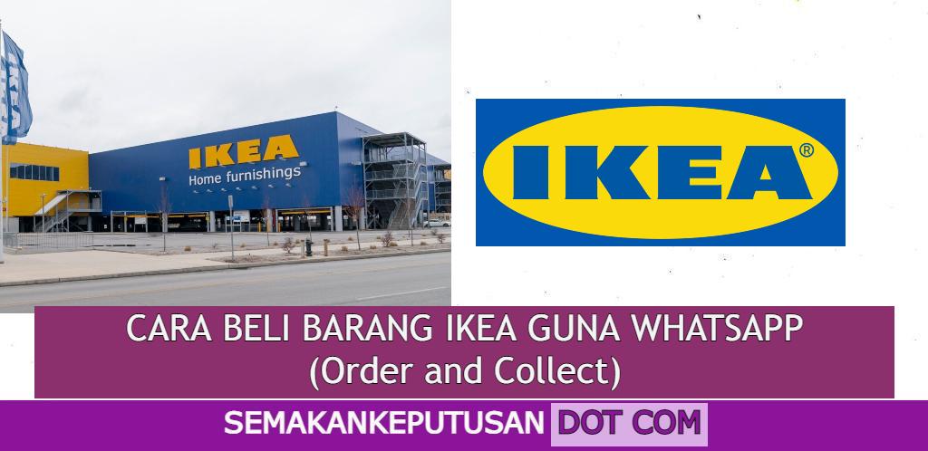 CARA BELI BARANG IKEA GUNA WHATSAPP