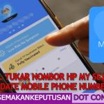 TUTORIAL TUKAR NOMBOR HP MY SEJAHTERA (Update Mobile Phone Number)